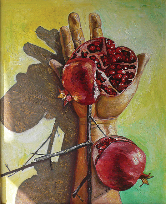 Crucified Pomegranate